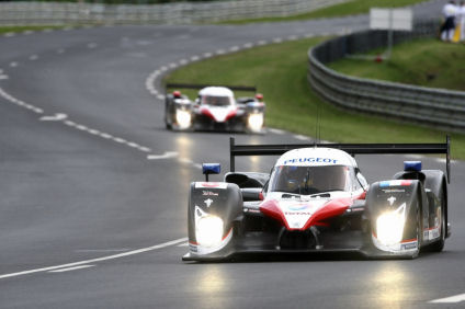 Peugeot 908 - Le Mans Vortests