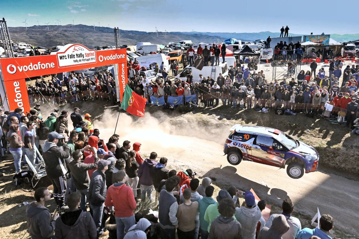 WRC 6 FIA World Rally Championship Fafe Portugal Stage ...
